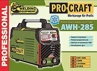 Зварювальний інвертор Procraft Awh-285