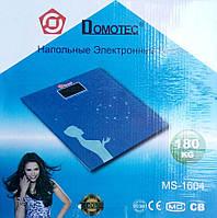 Напольные электронные весы Domotec Ms-1604, до 180 кг