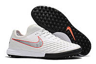 Сороконожки Nike MagistaX Finale II TF White/Metallic Cool Grey/Light Crimson, фото 1