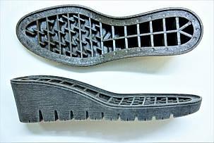 Подошва для обуви женская Мелиса-10 коричневая р.36-41, фото 2