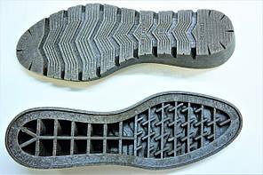 Подошва для обуви женская Мелиса-10 коричневая р.36-41, фото 3
