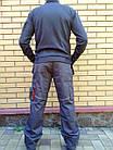 Брюки Modyf StarLine серо-оранжевые Wurth, фото 6