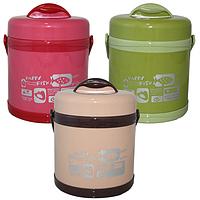 Термос пищевой 1,5 л с 2 контейнерами SNT 40122, фото 1