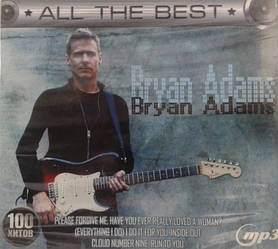 MP3 диск. Bryan Adans - All The Best