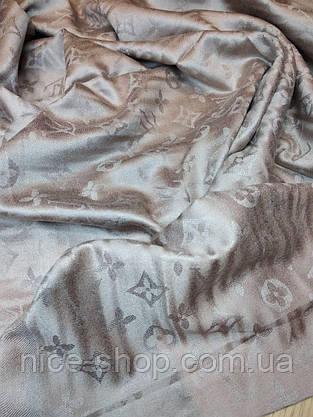 Палантин Louis Vuitton капучино светлый, фото 2