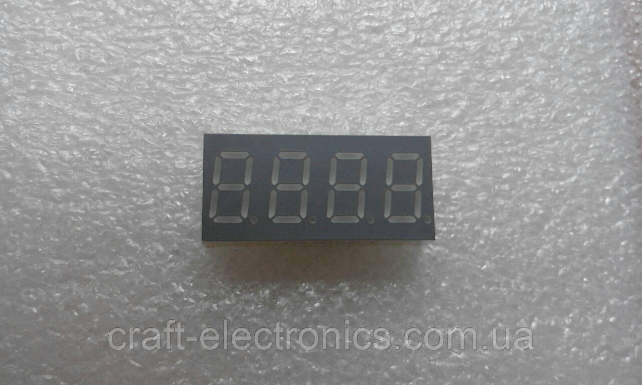 FYQ3641AS-21 Светодиодный цифровой индикатор 4-разрядный красный