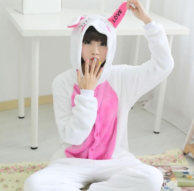 Пижама кигуруми женская и мужская Зайка грустная