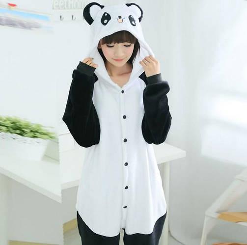 Пижама кигуруми женская и мужская Панда веселая  купить с доставкой ... 524dc02f65723