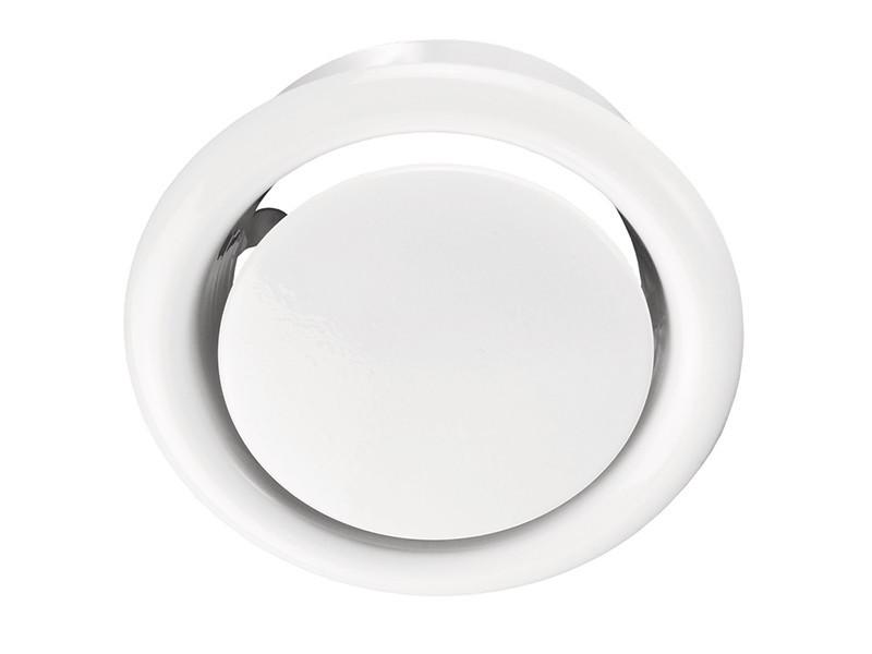 Анемостат металлический вытяжной 100 мм (рама)