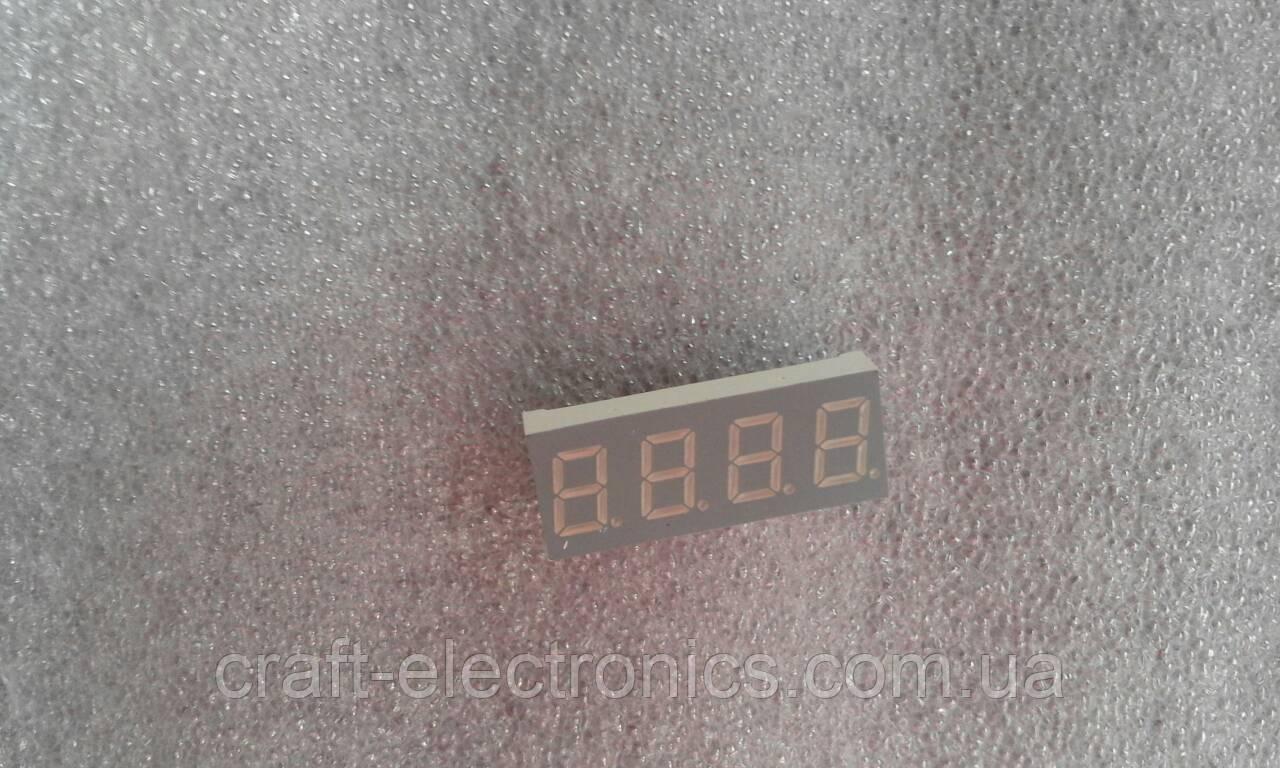 GNQ-4042AS-21 Світлодіодний індикатор 4-розрядний червоний