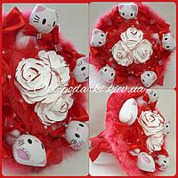Букет из игрушек Hello Kitty, фото 1
