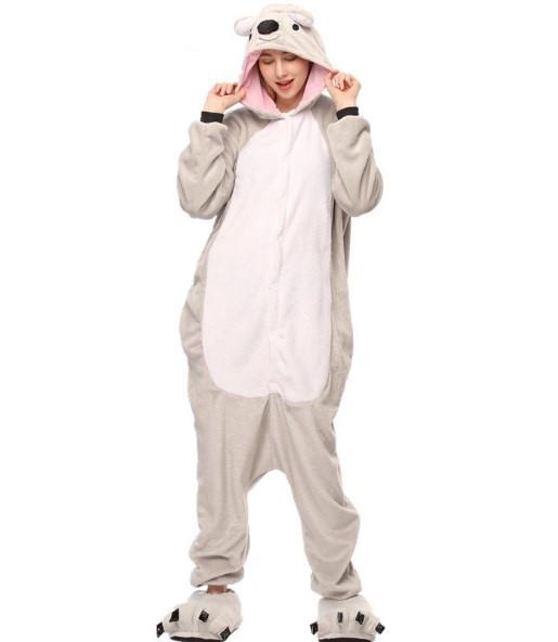 Пижама кигуруми женская и мужская Коала серая - Интернет магазин tsarsky- shop.com в de1e970928a69
