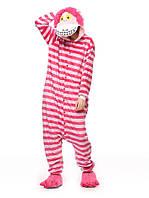 Пижама кигуруми женская и мужская Чешырский Кот