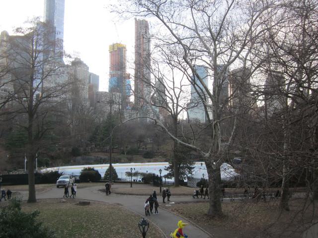 Раздел Женское термобелье - фото teens.ua - Нью-Йорк,каток в Центральном Парке