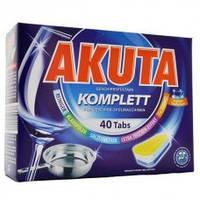 Akuta таблетки для посудомоечных машин All-in-one, 40 штук, Германия