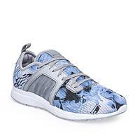 Кроссовки женские adidas durama material pack w S80281 (белые с синим, беговые, верх с текстиля, бренд адидас)