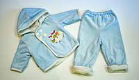 Махровий костюмчик для малюка на зростання 68.74 см, фото 1