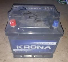 Аккумулятор 6СТ 50А3Г (1) плюс слева Krona