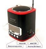 Портативная MP3 Колонка WS 259 Спикер USB FM am, фото 3