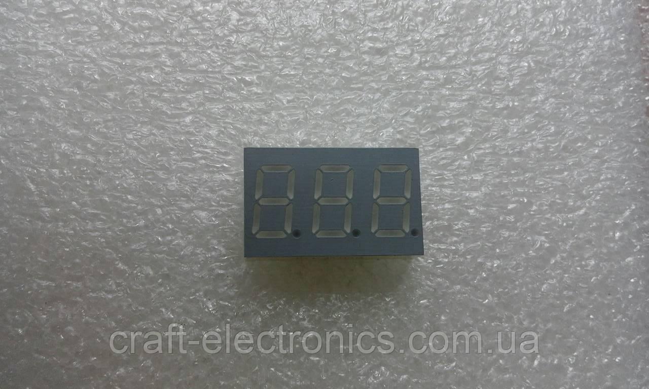 FYT-3631AD Светодиодный цифровой индикатор 3-разрядный