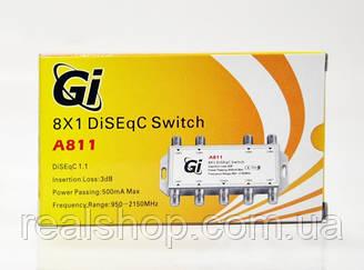 DiSEqC 8x1 Gi A811
