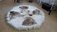 Коврик (ковер) из овчины Круглый, фото 1