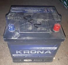 Акумулятор 6СТ 50А3Е (0) плюс праворуч Krona