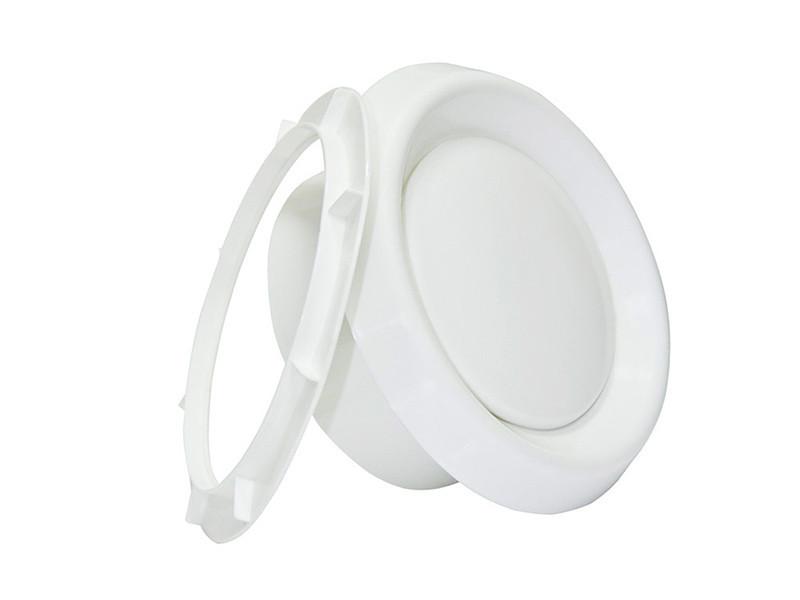 Анемостат пластиковый приточно-вытяжной 125 мм (рама)