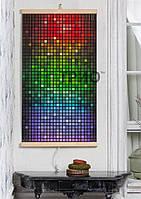 ИК Настенный обогреватель «Мозайка» 400Вт (+65°C)