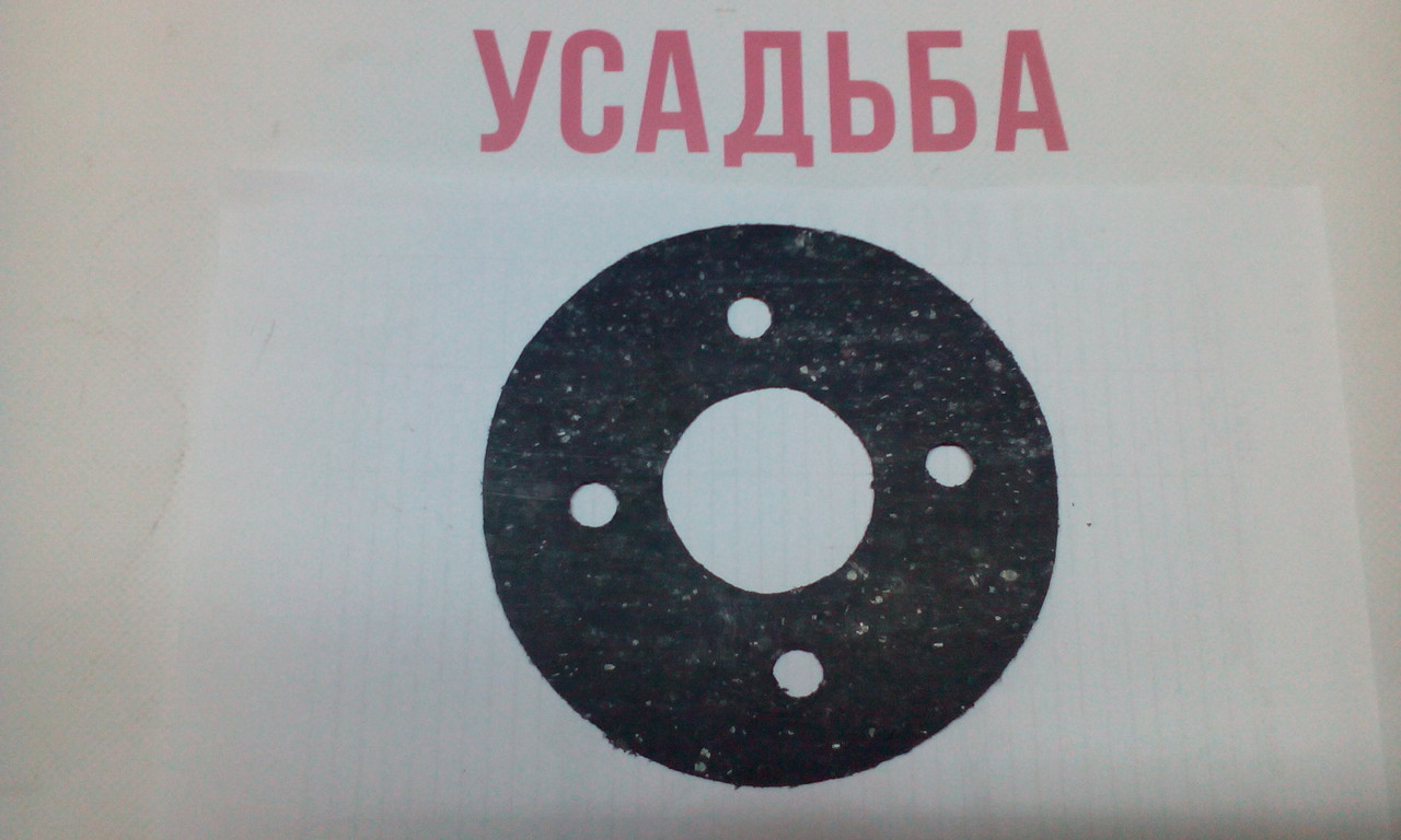 Прокладка переходной плиты и двигателя (круглая) 178F