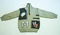 Вязаный свитер на мальчика, фото 1