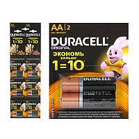 Батарейки Duracell Original AA/2 LR6/MN1500 (12 шт. на планшете)