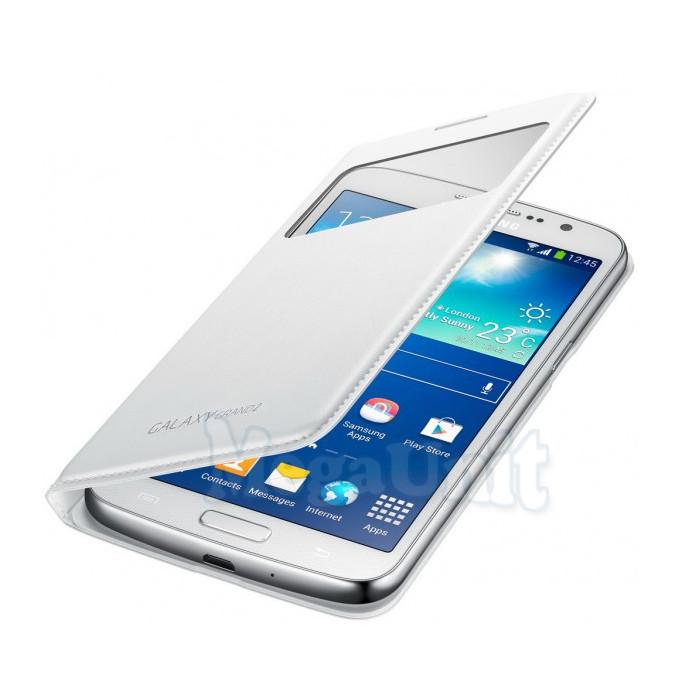 Чехол-панель S View Cover для Samsung Galaxy Grand 2 G7102 Белый