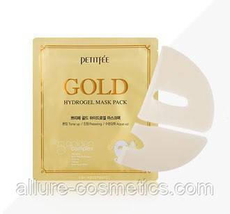 Гидрогелевая маска для лица с золотом PETITFEE Gold Hydrogel Mask Pack