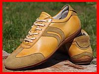 Кожаные кроссовки спортивные туфли мокасины geox р-р 47, стелька 31см