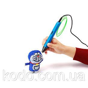 + 15 м PLA  пластика в подарок Синий, фото 2