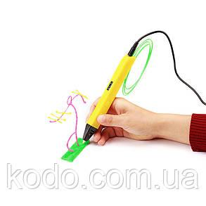+ 15 м PLA  пластика в подарок Желтый, фото 2