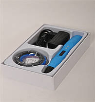 3D ручка Smartpen-2 6-го поколения модель RP400A c OLED дисплеем Синяя, фото 3