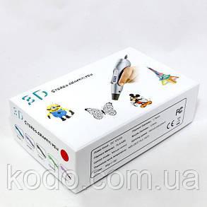 3D ручка Smartpen-2 6-го поколения модель RP400A c OLED дисплеем Желтая, фото 2