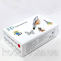 3D ручка Smartpen-2 6-го поколения модель RP400A c OLED дисплеем Синий металик, фото 3