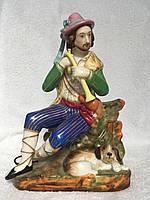 Фарфор братья Корниловы. фигурка <Пастушок> 1843-1860 г.