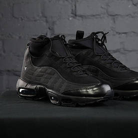 Nike Air Max Sneakerboot 95 Black (реплика)