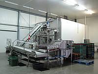 Флюидизационный туннель шоковой заморозки