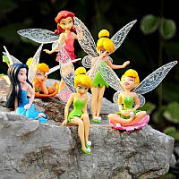 Набор Фей кукл Тинкер Белл Динь - Динь, Tinkerbell, Tinker bell, 6 шт