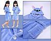 Халат кигуруми для детей Стич синий, фото 4