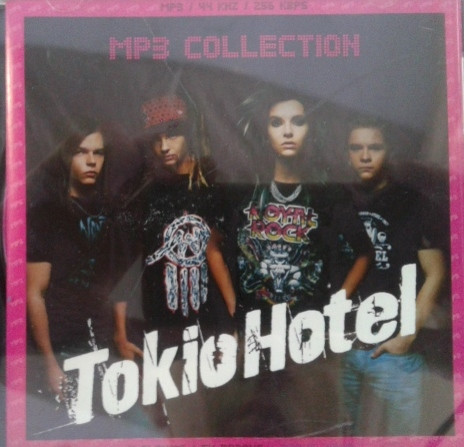 MP3 диск Tokio Hotel - MP3 Collection