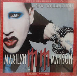 MP3 диск Marilyn Manson - MP3 Collection