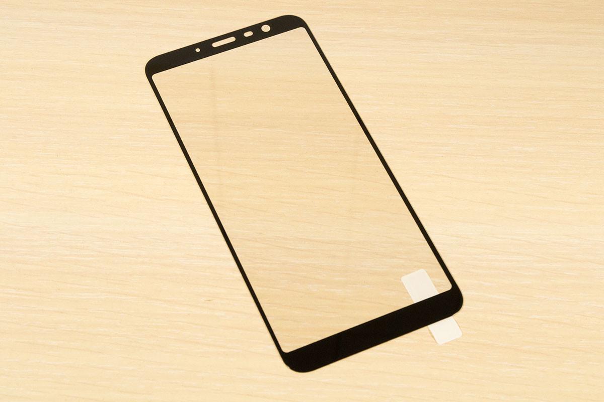Защитное стекло Silk Screen для Meizu M6T тех.пакет (Black)