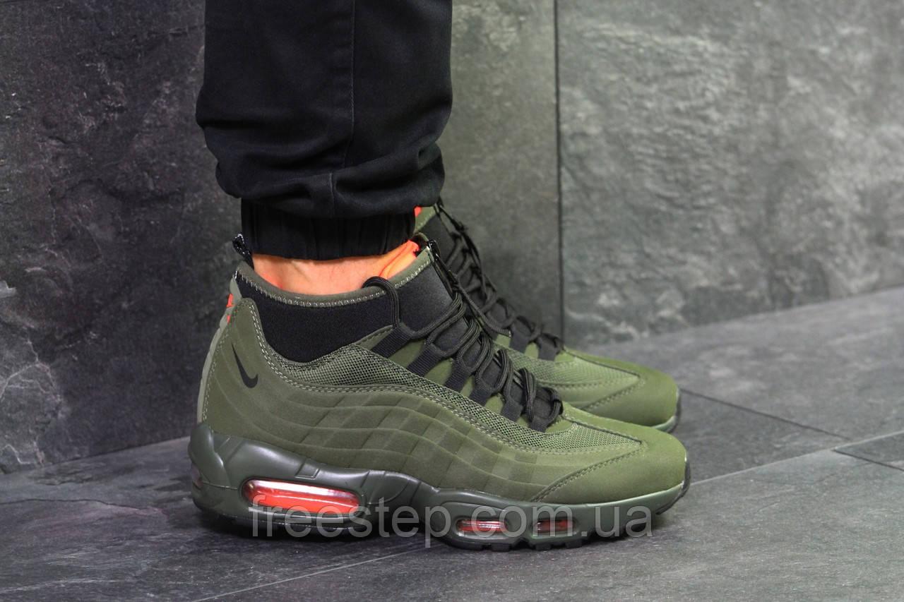 72b372b0 Зимние кроссовки в стиле NIKE Air Max 95 Sneakerboot Winter