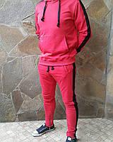 Мужской спортивный костюм, красный